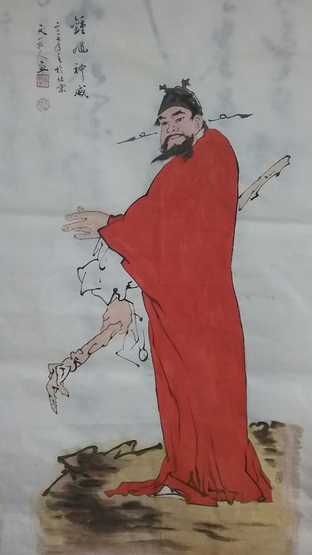 有时兴之所至,他用钢笔画几幅速写,描写眼前的天山,那令他陶醉,永世